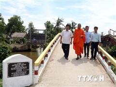 Vị sư trụ trì hết lòng chăm lo cho người nghèo ở Kiên Giang