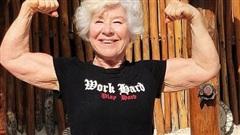 Choáng với 'bà ngoại cơ bắp' - người mẫu thể hình tuổi 74