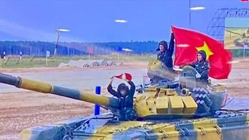 Đội tuyển xe tăng Việt Nam về đích đầu tiên ở trận ra quân Army Games 2020