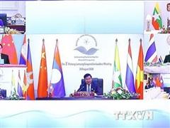 Các nhà lãnh đạo Mekong-Lan Thương cam kết hợp tác kinh tế