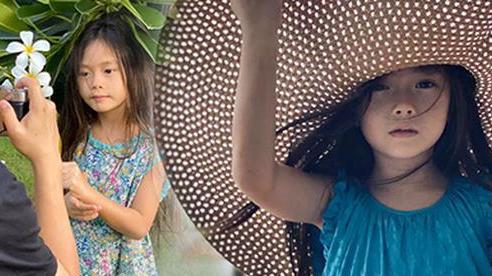 Nhan sắc hút hồn của bé Sol qua ống kính mẹ Đoan Trang