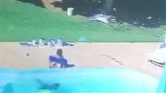 Cậu bé 3 tuổi cứu bạn bị đuối nước