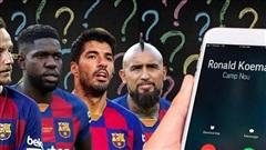 HLV Koeman gọi điện thoại 'đuổi' Luis Suarez, Vidal khỏi Barca