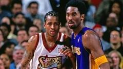 Rơi nước mắt trước tâm thư đầy xúc động của huyền thoại Allen Iverson dành tặng Kobe Bryant nhân ngày kỷ niệm 'Mamba Day'