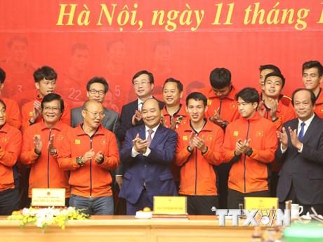 HLV Park Hang Seo vinh dự nhận Huân chương Lao động hạng Nhì