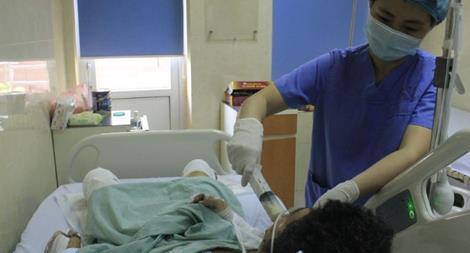 Nạn nhân bị thương trong vụ nổ ở Đông Anh đã qua cơn nguy kịch