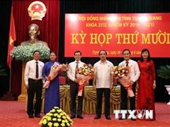 Ông Nguyễn Văn Sơn được bầu giữ chức Chủ tịch UBND tỉnh Tuyên Quang