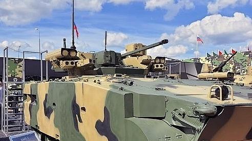 Nga ra mắt xe chiến đấu bộ binh mới nhất tại Army-2020