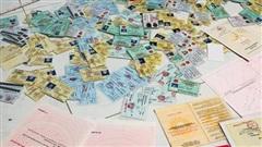 Triệt phá đường dây làm giả giấy tờ quy mô cực lớn ở miền Nam