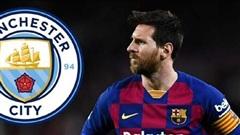 Man City lên phương án mua Messi