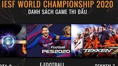 Giải Thể thao điện tử vô địch thế giới 2020: Việt Nam lựa chọn nhân tố mạnh hướng tới VCK tại Israel