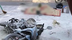 TP.HCM: Xe bồn bỏ chạy sau va chạm khiến xe máy bốc cháy, nam thanh niên tử vong