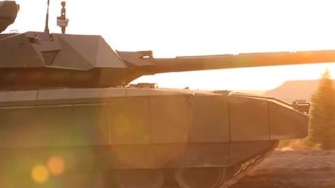 Nga công bố thời điểm trang bị pháo 152 mm cho Armata