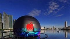 Cận cảnh Apple Store nổi trên mặt nước độc nhất vô nhị của Apple tại Singapore