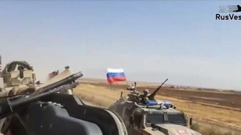 Xe quân sự Mỹ-Nga va chạm tại Syria, 4 binh sĩ Mỹ bị thương