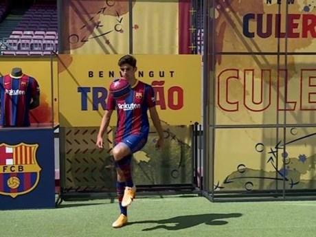 Barcelona trấn an CĐV bằng màn ra mắt tân binh Francisco Trincao