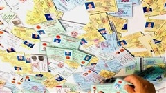 Đường dây làm giấy tờ giả ở Đồng Nai: Đầu tư hiện đại, làm giấy tờ 'như thật'