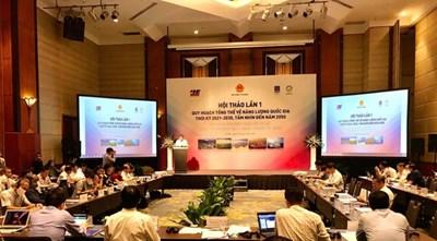 Xây dựng quy hoạch tổng thể cho ngành năng lượng quốc gia