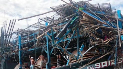 Truy tìm tàu hàng đâm tàu câu mực của ngư dân Quảng Nam