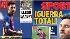 HLV Arteta nhắn Messi trước viễn cảnh gia nhập Man City