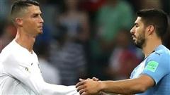 Suarez sẽ đá cặp với Ronaldo ở Juventus?