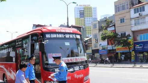 Xác minh, xử lý ''bến'' đón, trả khách trái phép tại quận Thanh Xuân