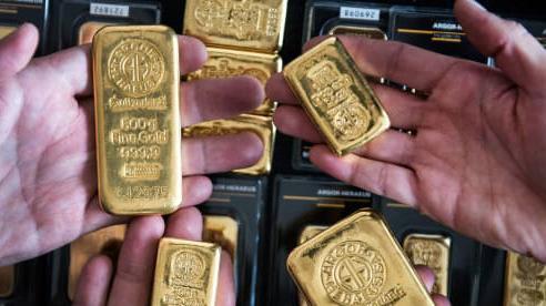 Giá vàng 'nhảy múa' vì bài phát biểu của Chủ tịch Fed