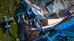 Bão Laura 'quét' qua Texas, Mỹ khiến 14 người thiệt mạng