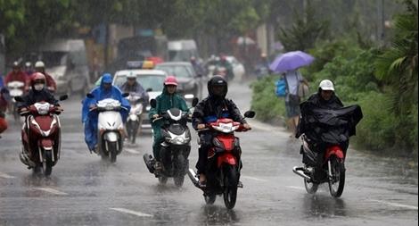 Bắc Bộ mưa giông, Trung Bộ duy trì nắng nóng