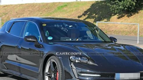 Porsche Taycan sedan bán quá chạy, phiên bản Cross Turismo sắp ra mắt gặp rắc rối