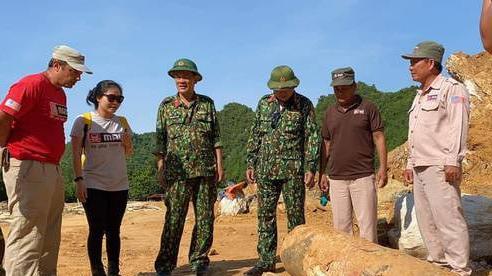 Quảng Bình: Hủy nổ an toàn quả bom nặng 450kg sót lại sau chiến tranh