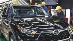 Sản lượng ô tô toàn cầu của Toyota giảm tháng thứ bảy liên tiếp