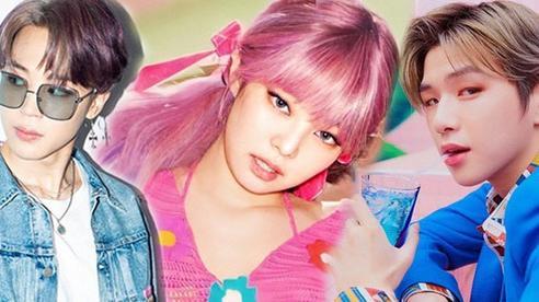 BXH 30 idol hot nhất hiện nay: BTS - BLACKPINK đối đầu gay cấn