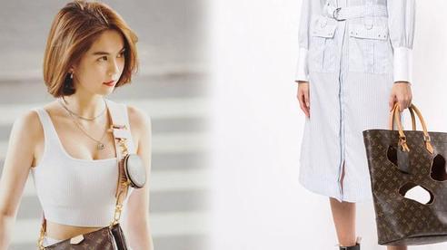 Louis Vuitton bán túi thủng lỗ chỗ như chuột gặm, chỉ thắc mắc liệu tín đồ hàng hiệu như Ngọc Trinh có dám sắm