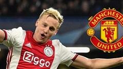 MU đàm phán Van de Beek, Liverpool hạn chót ký Thiago