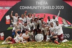 Arsenal lần thứ 16 đoạt Siêu cúp Anh