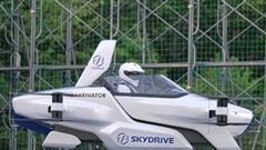 Công ty Nhật Bản lần đầu thử nghiệm thành công xe ô tô bay