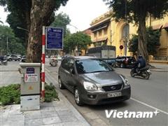 Hà Nội tạm dừng thí điểm trông giữ xe qua ứng dụng iParking từ 1/9