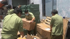 Phát hiện 80.000 khẩu trang nhập lậu từ Trung Quốc