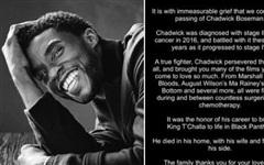 Cáo phó của Chadwick Boseman là bài tweet được 'Like' nhiều nhất mọi thời đại trên Twitter