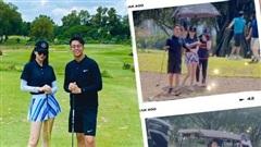 Tình cờ bắt gặp Hương Giang - Matt Liu hẹn hò ở sân golf