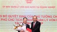 Trao quyết định bổ nhiệm Phó Chủ tịch Uỷ ban Quản lý vốn Nhà nước