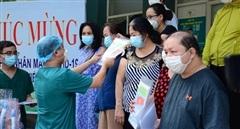 Đà Nẵng ghi nhận thêm 13 ca khỏi bệnh và được xuất viện.