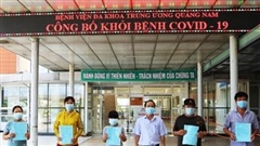 Thêm 7 ca mắc Covid-19 ở Quảng Nam được điều trị khỏi bệnh