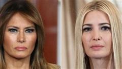 Mối quan hệ như nước với lửa giữa bà Melania và Ivanka Trump