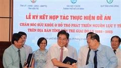 Hợp tác chăm sóc sức khỏe và hỗ trợ phát triển nguồn lực y tế tỉnh Bến Tre