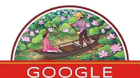 Google 'thay áo' Doodle, chúc mừng Quốc khánh Việt Nam