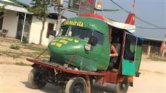 Người Việt lắp đầu máy bay lên xe tự chế, cư dân mạng tán thưởng: 'Đây là chuyên cơ mặt đất'