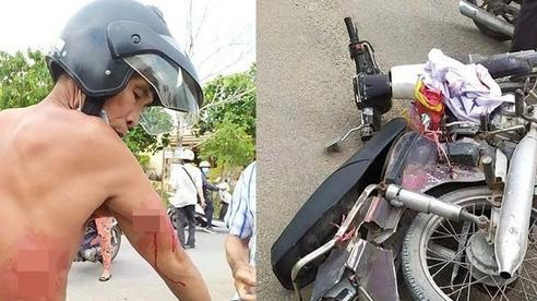 Va chạm giao thông rồi đâm người cướp xe ở Sài Gòn
