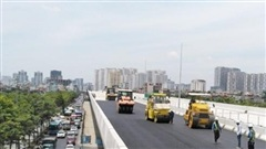 Dự án cầu cạn đoạn Mai Dịch - Nam Thăng Long sẽ hoàn thành vào ngày 30-9